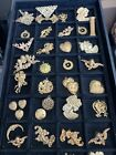 Large Vintage Lot Assorted Metal Findings  40 Pieces
