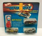 vintage 1984 Hot Wheels ULTRA HOTS Stamper Set with Speed Seeker Sol Aire CX4