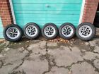 """FORD - """"CHROME"""" -   ROSTYLE RIMS 13 X 5.5J - FULLY REFURBISHED - STUNNING - EACH"""