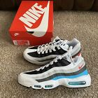 Nike Air Max 95 Glass Blue White Black Red CV6971 100 Mens Size 11 Shoes NEW