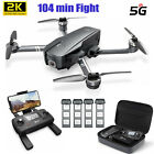 Holy Stone HS720 RC Drone 4K Camera FPV GPS Foldable Quadcopter 2 3 4 Batteries