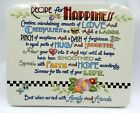 MARY ENGELBREIT LARGE CERAMIC RECIPE FOR HAPPINESS HANGING WALL DECORATION
