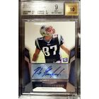 Rob Gronkowski Rookie Auto 480 2010 Topps Unrivaled BGS 9 Autograph 10 RC