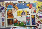 Vintage 80s 90s Sticker Book Album  Loose Stickers Collection