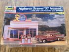 Highway Scenes 57 Nomad With Die Cut Diorama Gas Station Revell Monogram 1 24