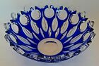 Caesar Crystal Bohemaie Flamenco Bowl Marked  Signed 105 Inches