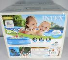 Intex 8x24 Easy Set Inflatable Above Ground Pool with Filter Pump New