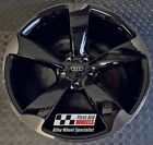 """R449BSL Swap AUDI A5 S5 4X 19"""" GENUINE ROTOR BLACK SMOKED LACQUER ALLOY WHEELS"""