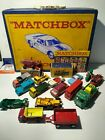 LOT OF 16 VINTAGE 1960s LESNEY MATCHBOX DIECAST CARS WITH COLLECTIBLE CASE