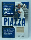 MIKE PIAZZA 2017 CHRONICLES SWATCHES GU PATCH BAT CARD # 499 DODGERS MINT HOF