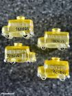 4 Vintage Heavy Glass School Bus Light Cover Hard To Find