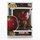 Funko POP! Marvel: Wandavision #718 - Vision 70s Exclusive MINT In Protector