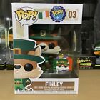 Funko Pop! Around The World 03 Ireland Finley with Pin Excellent Condition