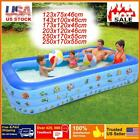 Adult Children Inflatable Swimming Pools Outdoor Home Pool Large Family Kids US