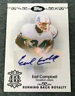 2007 Topps Football Earl Campbell Signed Auto Card 50 Running Back Royalty