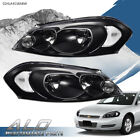Clear Corner Black Headlights Fit For 06 13 Chevy Impala 06 07 Monte Carlo