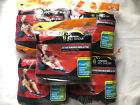Pack of 5 Hanes Mens 6 Pairs No Show Black Socks Size 6 12 Each 30 pairs Total