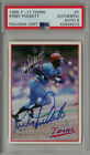 Kirby Puckett Cards, Rookie Card and Autographed Memorabilia Guide 33