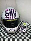 2020 Jimmie Johnson Full Size helmet and 1 24 Car ally white 2x Autographed