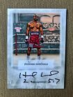 EVANDER HOLYFIELD 2010 RINGSIDE BOXING ROUND 2 TWO SILVER AUTO CARD #A-EH2