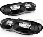 For Chevy Camaro 1998 2002 Black Headlamps Left+Right Light Headlights Assembly