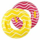 2 Pack Inflatable Pool Tubes with Handles 39 Inner Tubes for Floating for Ad