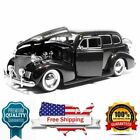 Diecast Model Car 1939 Chevy Master Deluxe Baby Moon Wheels 1 24 Scale by Jada
