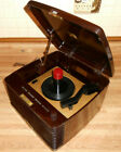 VINTAGE 50s RCA VICTOR 45 EY 3 TUBE BAKELITE 45 RPM RECORD PLAYER Power up ASIS