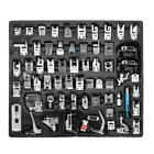 62Pcs Domestic Sewing Machine Presser Foot Feet Set for Brother Singer Janome C