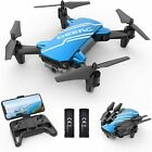 DEERC D20 Mini Drone with 720P Camera for Kids Remote Control Gifts 2Battery