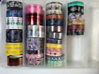 The Planner Society Rolls Washi Tape Kit Bundle Set New Used Lot A