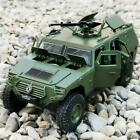132 Military Refit Armored Car Alloy Diecasts Toy Off road Vehicles Tank Kids