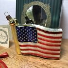 Waterford Holiday Heirlooms Stars  Stripes American Flag original tag and box