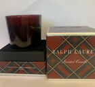 RALPH LAUREN Candle Scented Holiday Box Tartan Box New I Wick