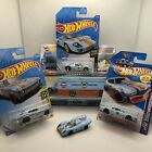 Hot Wheels Lot of 6 Gulf Livery Cars Lancia 037 Porsche 917 Ford GT 40 Chevy