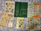 Lot Of Scrapbooking Card Making Stamps And Ink
