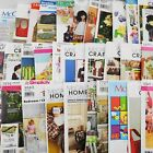 Lot of 36 UNCUT Craft Sewing Patterns Aprons Bags Christmas Dolls  Clothes