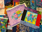 Fabric Lot 10 Pounds Various Fat Hands Fat Quarters  Pieces Quilting Fabric A17