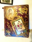 1889 Victorian Era Advertising Trade Card Scrapbook Parlor Calling Card 34 Pages