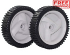 2 Front Drive Wheels for 21 22 Craftsman 675 Series 190cc Propelled Lawn Mower