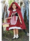 Little Red Riding Hood girls costume Size 8 Dress and Hooded Cape