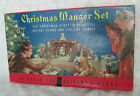 1930 40s Concordia Christmas Manger Set No 743 Stand Up Litho Cardboard COMPLETE
