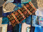 Fabric Lot 10 Pounds Various Fat Hands Fat Quarters  Pieces Quilting Fabric A20
