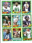 NMT 1986 Topps Football Complete 1-396 card set. Great cards. One owner.
