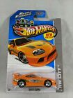 2013 Hot Wheels Toyota Supra Fast And Furious  With Protector