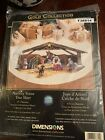 Dimensions Gold Collection NATIVITY SCENE Tree Skirt Cross Stitch Xmas Religious