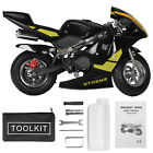 Gas Power Pocket Bike Motorcycle 49cc 2 Stroke Engine For Kids And Teens US