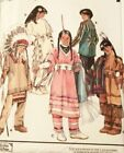 OOP Simplicity Costume Pattern 9145 Childs Szs 345678 Native American Costumes
