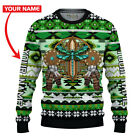 New Custom Name Native American Dragonfly Premium Ugly Sweater Christmas Gift