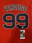 Alex Verdugo SIGNED Autographed BOSTON RED SOX JERSEY WITH JSA COA AUTOGRAPH